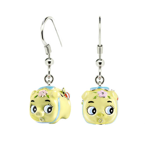 WASABI BABY PIGGY EARRINGS