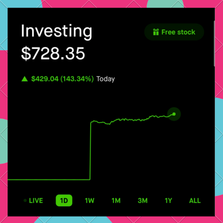 Account Value +143%