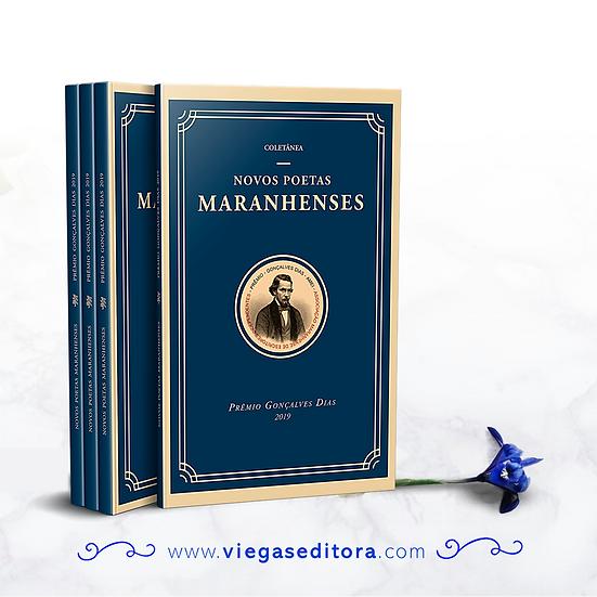 Novos poetas  maranhenses  - Viegas editora - Gonçalves Dias