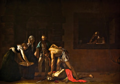 The Beheading of St. John - Caravaggio.j