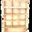 Thumbnail: Présentoir en Bois 12 cases vide + tablette pour 16 références