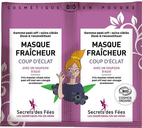 MASQUE PEEL-OFF BIO FRAICHEUR COUP D'ECLAT