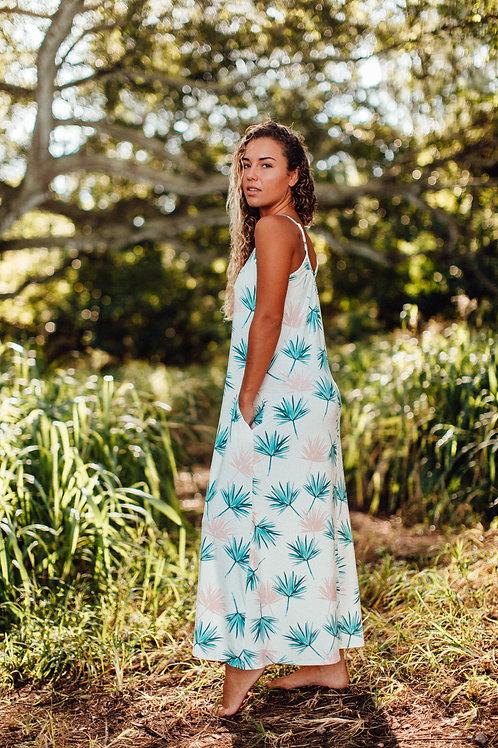 Janica Maxi Dress in Island Mist