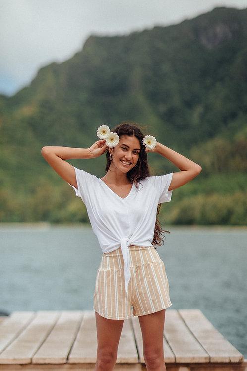 Kahala Top in White