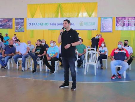 Saullo Vianna participa do lançamento de programas de ajuda a Manacapuru e Novo Airão
