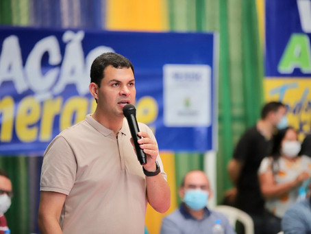 Saullo Vianna participa de ações e entrega de emendas em Autazes