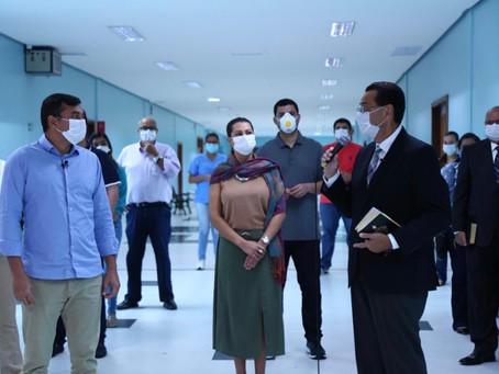 Amazonas amplia estrutura com novos leitos para pacientes de Covid-19