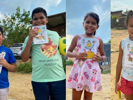 Projeto Gerando Sorrisos lança cartilha para colorir com tema amazônico