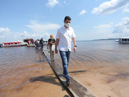 Em visita a Tefé e Alvarães, Saullo Vianna reforça compromisso com interior do Amazonas