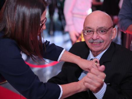 Aldenor Lima, criador do Canto da Peixada, recebe homenagem de Saullo Vianna