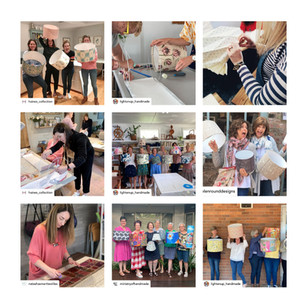 Promote your Lampshade Making Workshop with Dannells