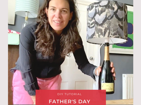 Father's Day Make - Bottle Lamps with The Haines Collection