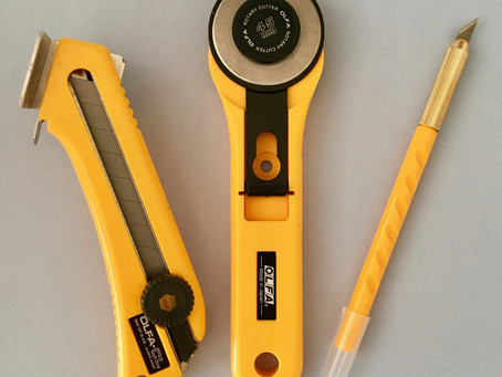 3 Essential Olfa tools for lampshade making