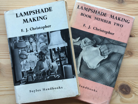Vintage Inspiration - Lampshade Making Book Review