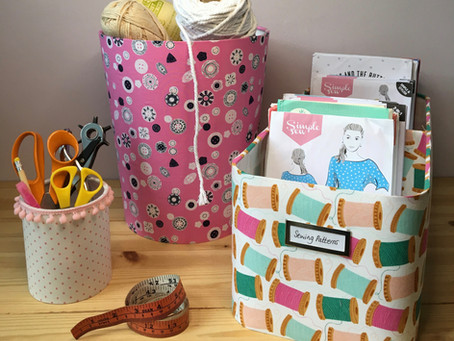 'Back to school' - Ways to refresh & reorganise your craft space