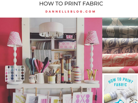 Back to school skills - How to print fabric