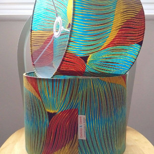Creative Ideas for using Clear Stick It  Lampshade Making PVC