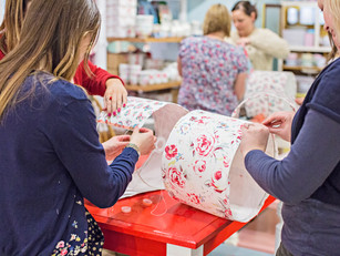 FREE promotion for your lampshade making workshop