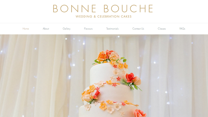Welcome to our new Bonne Bouche website!
