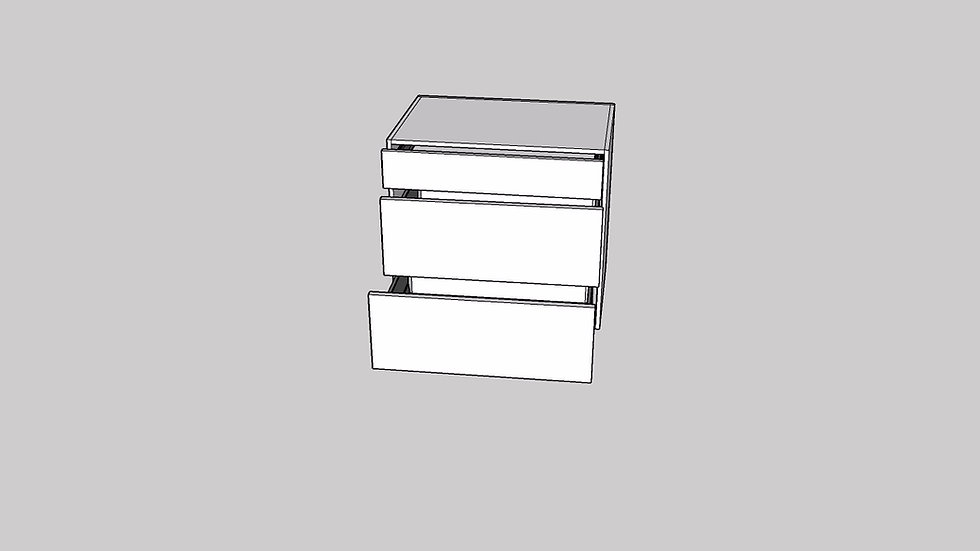 Base 3 Drawer
