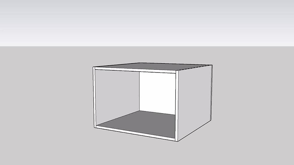 Wood Grain Microwave Box