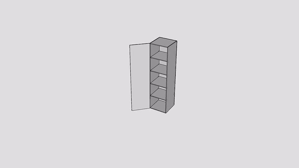 Wood Grain Tall Cabinet 1 Door