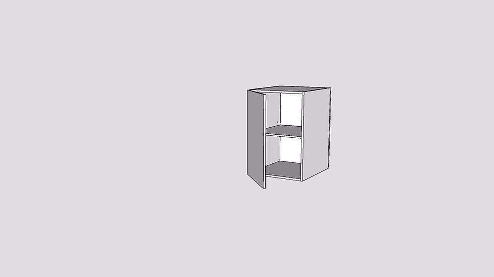 Wood Grain Custom Base Cabinet 1 Door