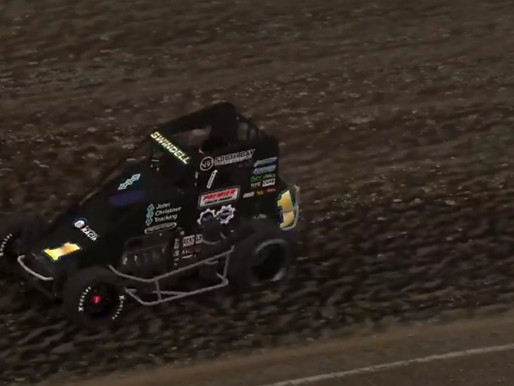 James Edens holds on to win the 2020 ASCORS Chili Bowl Nationals