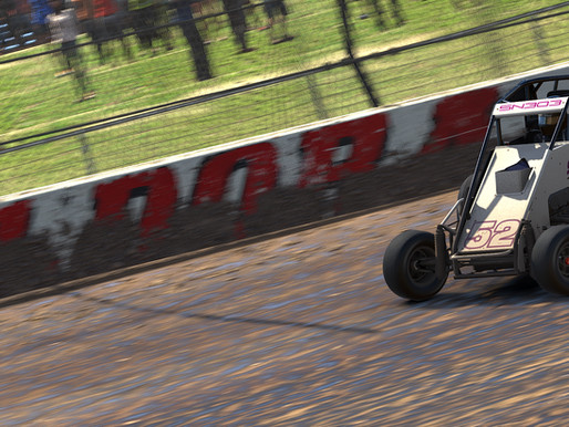 Edens Shows Speed in the Slick, Victorious at Eldora
