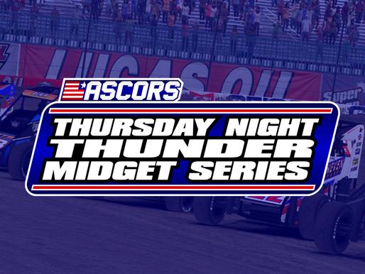 Thunder Midget Series Schedule Announced