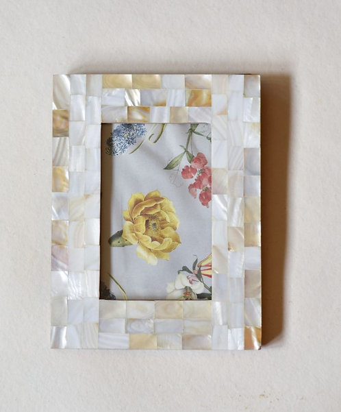 Photo Frame Mother of Pearl Large