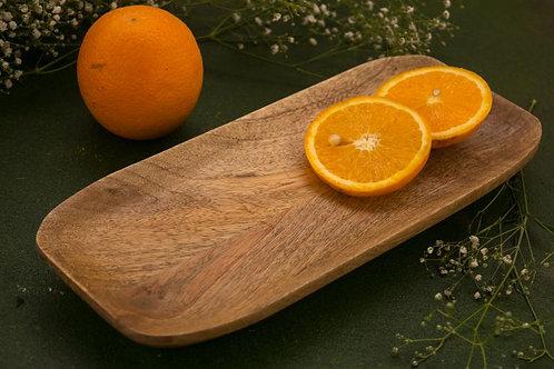 """Wooden Platter 12"""" - Natural"""