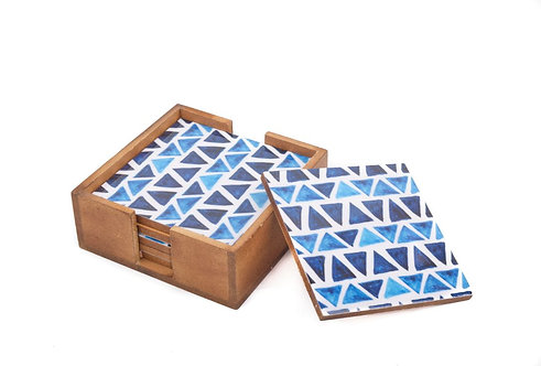 Coasters Wooden Ice
