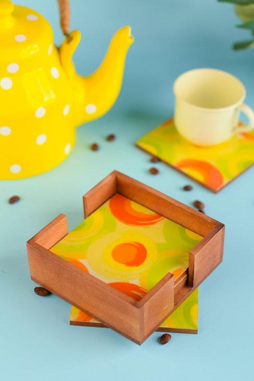 Coasters Wooden Citrus