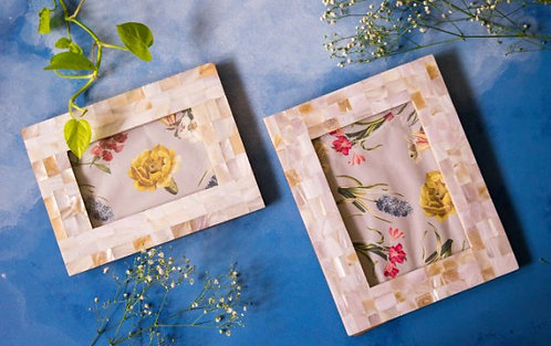 Photo Frame Mother of Pearl Small