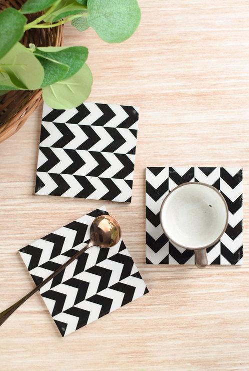 Coasters Wooden Zebra