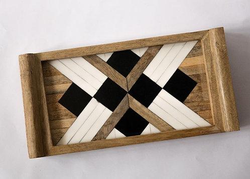 Black & White Tray - Small