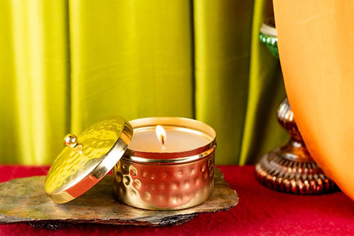 Scented Candle Gold Hammer - Small Jar