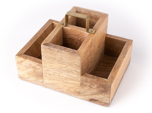 Cutlery Holder - Small - Natural
