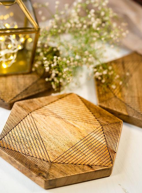 Trivets Wooden Maze