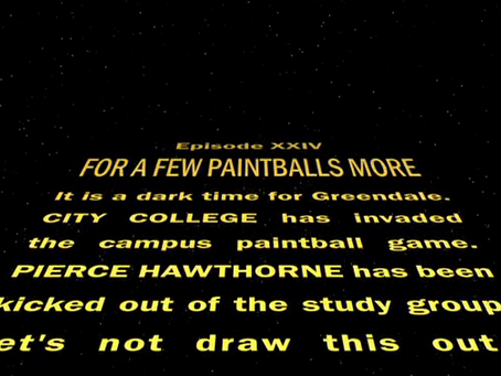 Community's Homage to Star Wars