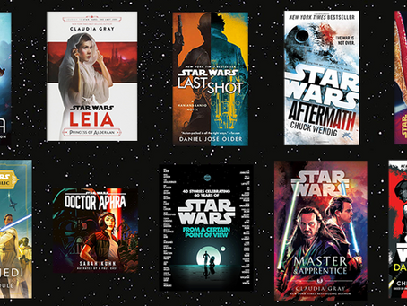 QUIZ: Which of my Favorite Star Wars Books Should You Read?