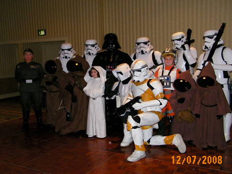Trooping with the 501st