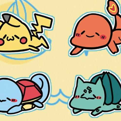 Pokemon 懶趴趴雙面亞克力夾子
