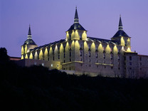 El palacio del Duque de Lerma, hoy Parador Nacional y sede de nuestra Gran Fiesta del Siglo de Oro. (Lerma)