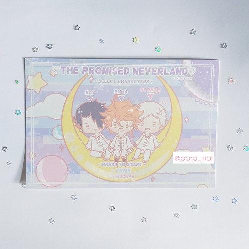 約定的夢幻島 - 坐月亮Postcard