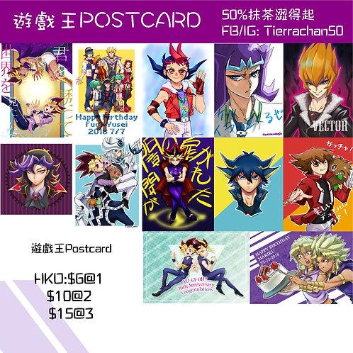 遊戲王 postcard  遊戯王 ポストカード