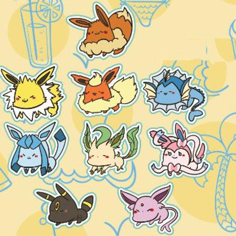第2彈 Pokemon 懶趴趴雙面亞克力夾子