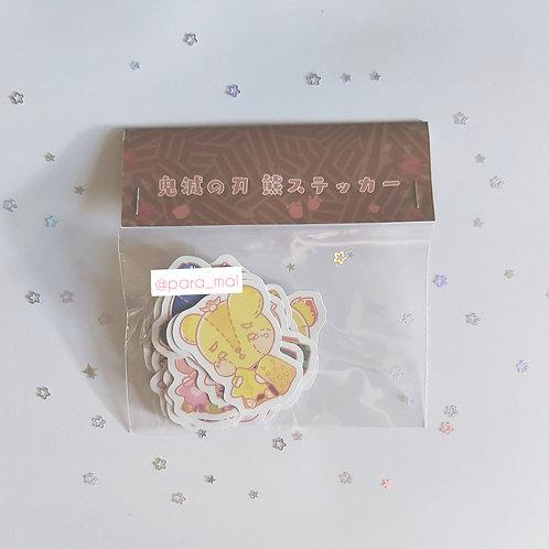 鬼滅之刃 - 熊熊貼紙包