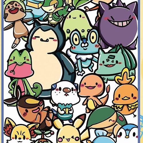Pokemon  A4 雙面文件夾